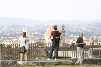 SACI Post-Bac field trip at the Forte Belvedere