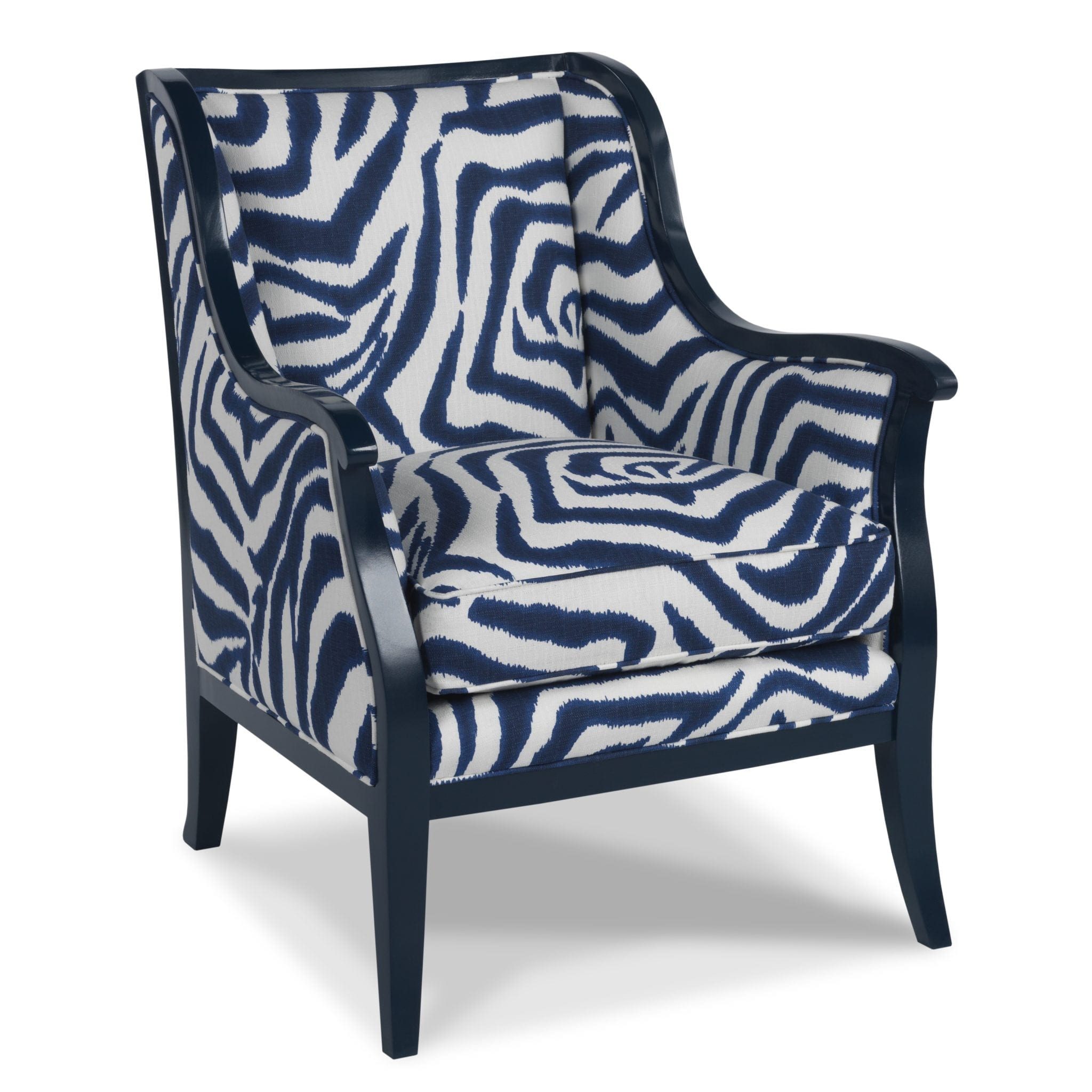 animal print accent chairs vitra eames lounge chair and ottoman express your wild side sacksteder 39s interiors