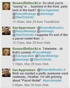 parcel mullet evolution on Twitter