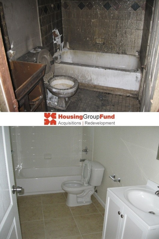 HGF - Before & After Bathroom