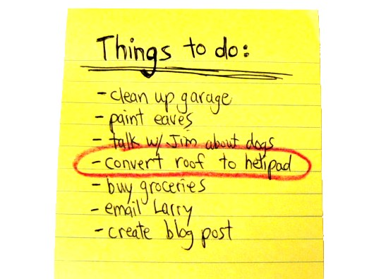 Honey-do List from Sacramento Appraisal Blog