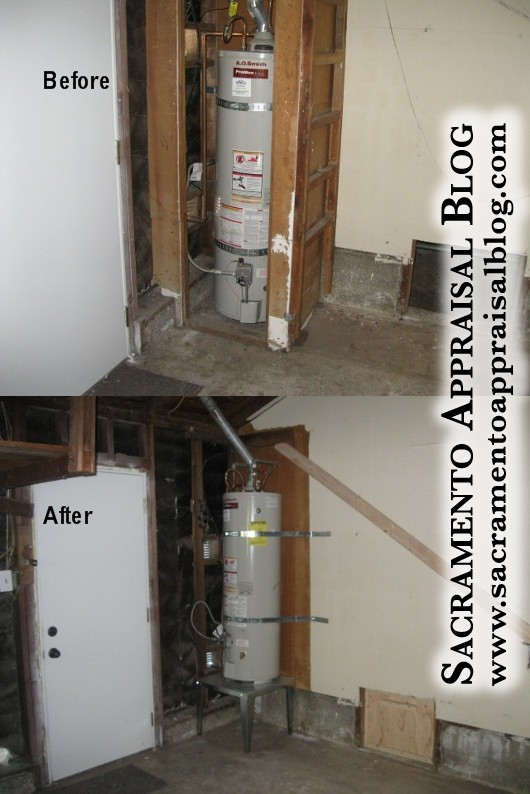 FHA water heater requirements - Sacramento Appraisal Blog