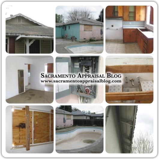 Fixer house photos on Sacramento Appraisal Blog