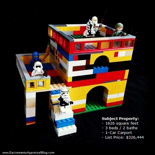 Legos and real estate - photo by Sacramento Appraisal Blog - 1