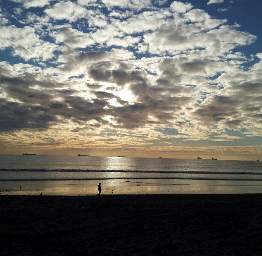 Sunset Beach - no filter - photo by Sacramento Appraisal Blog