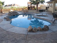 Built-in pool photo - by Sacramento Appraisal Blog