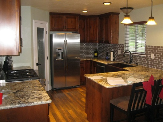 kitchen remodel - photo by Sacramento Appraisal Blog