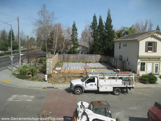 New construction in Sacramento market 2013 - photo by Sacramento Appraisal Blog