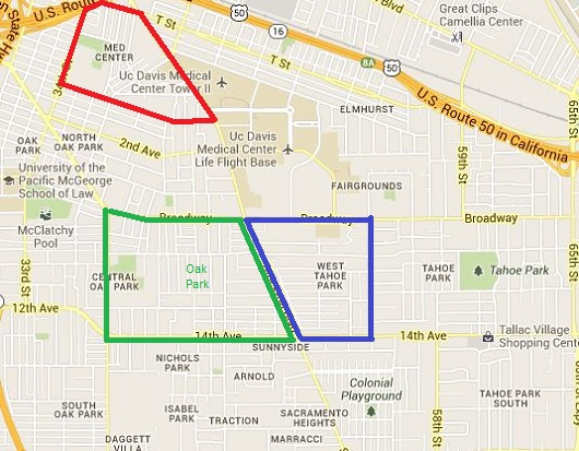neighborhood boundaries in an appraisal report example by sacramento appraisal blog