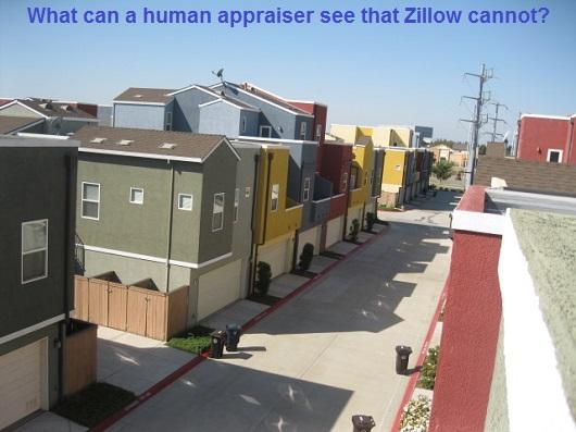 appraiser vs zillow