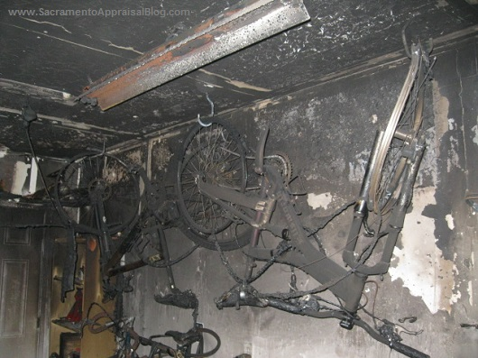 burned bikes - photo by sacramento appraisal blog