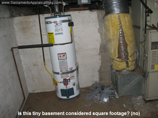 Can a basement be considered square footage?