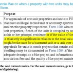 Fannie Mae language on second units