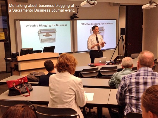 ryan lundquist blogging class - sacramento business journal