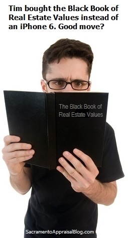 little black book of real estate values 2 - photo purchased and used with permission by sacramento appraisal blog
