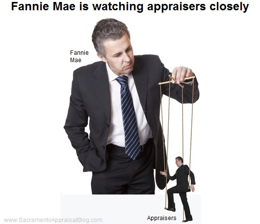 Fannie Mae is watching appraisers closely - by sacramento appraisal blog - image purchased and used with permission