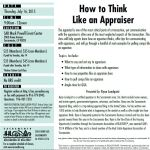 how to think like an appraiser bigger