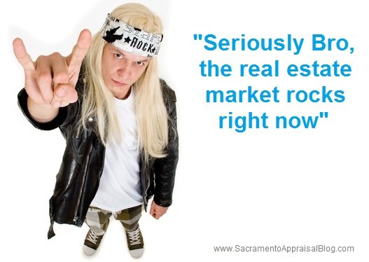 real estate market cliches - by sacramento appraisal blog - image purchased and used with permission from 123rf dot com