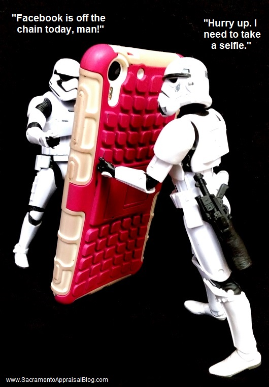 storm troopers on facebook - sacramento appraisal blog
