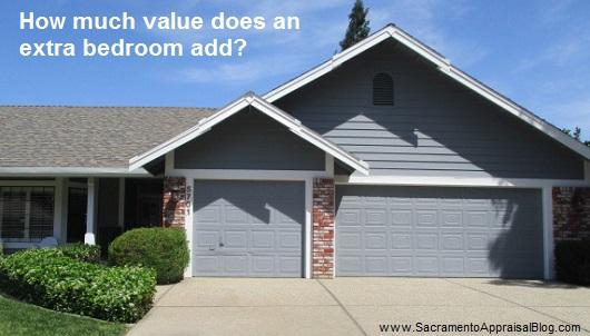 Value Of A Bedroom   Sacramento Appraisal Blog