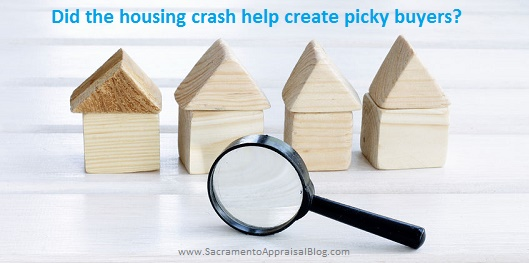 56718353 - careful and picky choice of properties with a magnifying glass