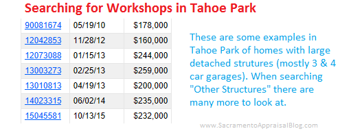 Tahoe Park search