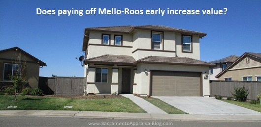 Does paying off Mello Roos ear...