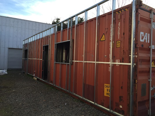 During recent visits to China and Hong Kong I saw new construction sites with 100s of containers modified for worker housing. & The emerging trend of storage container homes (Q\u0026A) | Sacramento ...