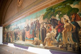 The historic mural in its entirety.