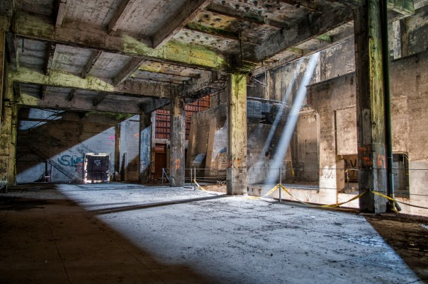 A rarely seen view of the Powerhouse interior from 2011.