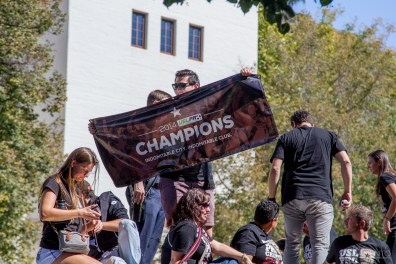 Republic FC championship celebration