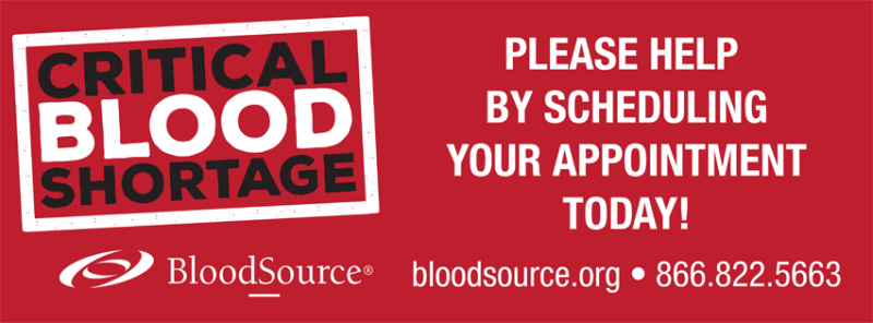 BloodSource Blood Donations, Sacramento