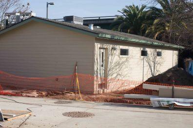 The upcoming surgery center, still under construction