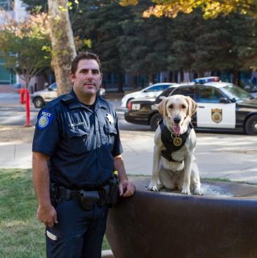 Officer Buchana and Waverly