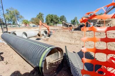 (BEFORE) Regional wastewater storage facility in Oak Park