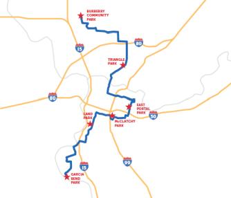 Tour de City Hall Map