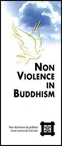 Non-Violence Brochure Cover