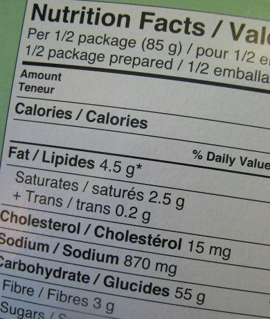 Food Label 390x460 - Raw Vegan: Too Difficult??