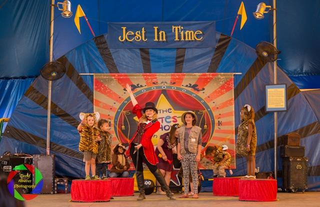 Let's Pretend Circus at the Sacramento County Fair.