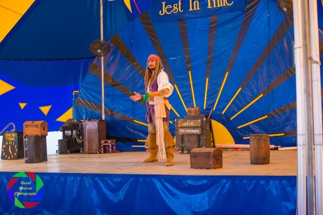 Capt'n Jack Spareribs performing at the Sacramento County Fair.