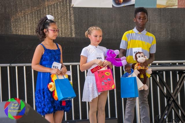 Kids Talent Show Final winners at the Sacramento County Fair.