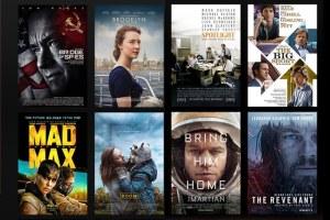 oscar movie week