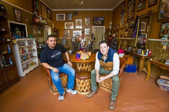 David Garcia and Cuahotemoc Vargas