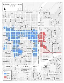Midtown PBID Expansion Map