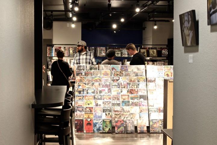 Calling All Geeks: Oblivion Comics & Coffee Now Open