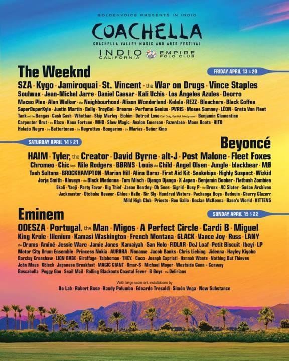 A Brief Look at 2018's California Music Festivals