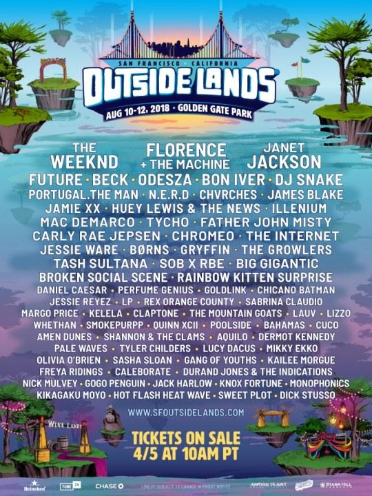 Outside Lands 2018
