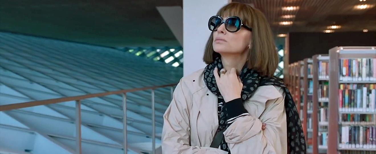 Cate Blanchett in a still from Where'd You Go Bernadette.