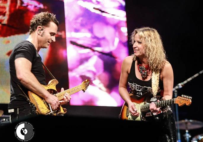 Dweezil Zappa and Ana Popovic - 'Experience Hendrix' Brings Explosion of Guitars to Mondavi Center