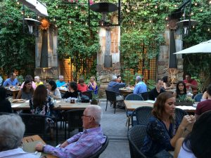 Patio at Pargary's